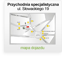 Przychodnia specjalistyczna - ul. Słowackiego 19