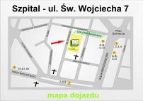 Szpital Dzieci�cy - ul. �w. Wojciecha 7