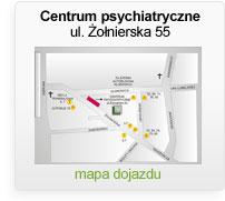 Centrum psychiatryczne - ul. Żołnierska 55